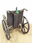 EZ-ACCESS Wheelchair Single Oxygen Carrier