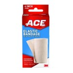 Ace™ Elastic Bandage with Hook Closure, 4 in.