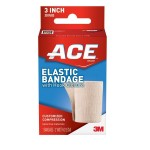 Ace™ Elastic Bandage with Hook Closure, 3 in.