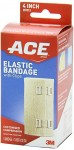 Ace™ Elastic Bandage with Clips, 4 inch