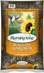 Morning Song Black Oil Sunflower Wild Bird Food