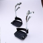 Invacare T93AA Swingaway Aluminum Wheelchair Footrests