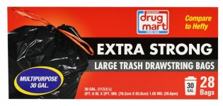 DDM 30 GALLON TRASH BAGS