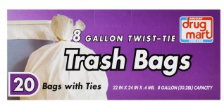 DDM TRASH BAGS MEDIUM