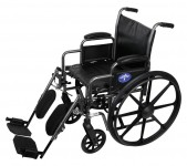 Medline Wheelchair Rental with Leg Rests