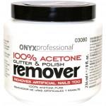 Onyx 100% Acetone Nail Polish Remover Jar
