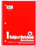 1 Subject Notebook - College Ruled