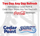 Cedar Point - Two Day Ride and Refresh