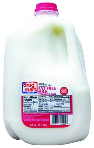 Discount Drug Mart Fat Free Skim Milk