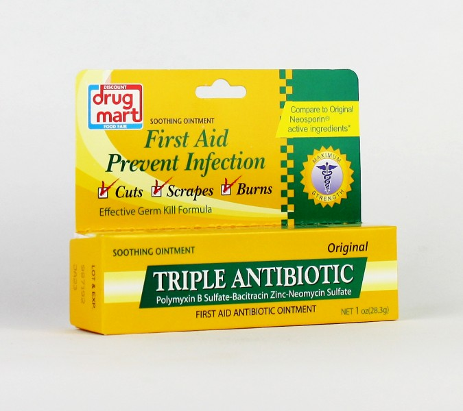 DDM Trisporin Triple Antiobiotic Ointment