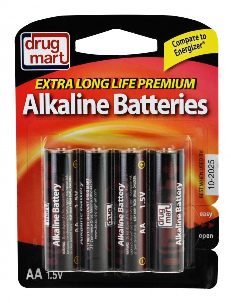 DDM Premium Battery Alkaline AA 8 Pack