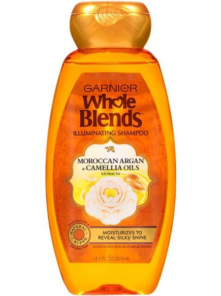 Whole Blends Illuminating Shampoo with Moroccan Argan and Camellia Oil Extracts