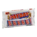 PAYDAY Peanut Caramel Bars, 6-Bar Bags