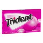 Trident Sugar Free Gum Bubblegum - 14 CT