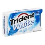 Trident White Sugar Free Gum Peppermint - 16 CT