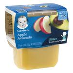 Gerber Baby Food 2nd Foods Apple Avocado Non GMO