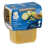 Gerber Baby Food 2nd Foods Pear Zucchini Corn Non GMO