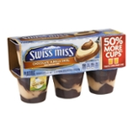 Swiss Miss Pudding Chocolate Vanilla Swirl - 6 CT