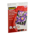 Scotch Thermal Laminating Pouches - 20 CT