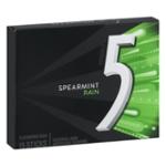 5 Spearmint Rain Sugar Free Gum 15 Sticks