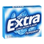 Wrigley's Extra Sugarfree Gum Peppermint - 15 CT