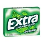 Wrigley's Extra Sugarfree Gum Spearmint - 15 CT