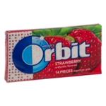 Wrigley's Orbit Sugarfree Gum Strawberry - 14 CT