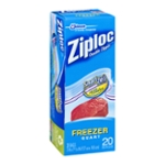 Ziploc Double Zipper Bags Freezer Quart - 19 CT
