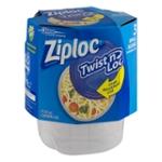 Ziploc Twist n Loc Small Round - 3 CT