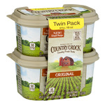Country Crock Vegetable Oil Spread Original - 2 PK
