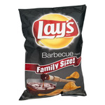 Lay's Family Size Barbecue Potato Chips 9.50 Ounce Plastic Bag