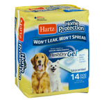 Hartz Home Protection FlashDry Gel Dog Pads Unscented - 14 CT
