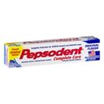 Pepsodent Complete Care Anticavity Fluoride Toothpaste Original Flavor