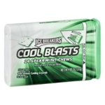 ICE BREAKERS COOL BLASTS Spearmint Chews, 0.8 oz