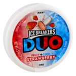 ICE BREAKERES DUO Strawberry Flavored Mints
