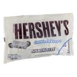 HERSHEY'S Halloween Snack Size Cookies 'n' Crème Bars, 10.35 oz