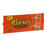 REESE'S Snack Size Peanut Butter Cups, 8 Count, 4.4 oz
