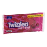 TWIZZLERS PULL 'N' PEEL Cherry Candy, 14 oz