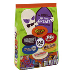 Hershey's All Time Greats Halloween Candy Assortment, 160 Pieces