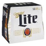 Miller Lite Beer, American Lager, 12 Pack, 12 fl. oz. Bottles, 4.2% ABV