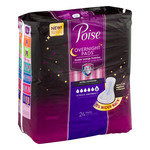 Poise Overnight Pads Extra Coverage Ultimate Absorbency - 24 CT