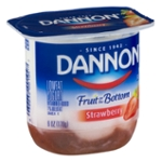 Dannon Fruit on the Bottom Lowfat Yogurt Strawberry