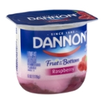 Dannon Fruit on the Bottom Lowfat Yogurt Raspberry