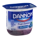 Dannon Fruit on the Bottom Lowfat Yogurt Blueberry