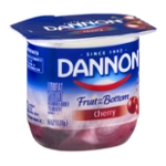 Dannon Fruit on the Bottom Lowfat Yogurt Cherry