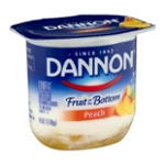 Dannon Fruit on the Bottom Lowfat Yogurt Peach