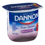 Dannon Fruit on the Bottom Lowfat Yogurt Mixed Berry