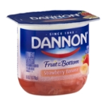 Dannon Fruit on the Bottom Lowfat Yogurt Stawberry Banana