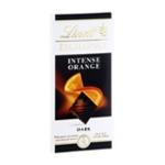 Lindt Excellence Dark Chocolate Intense Orange