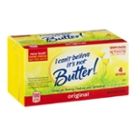 I Can't Believe It's Not Butter! Vegetable Oil Spread Sticks Original - 4 CT